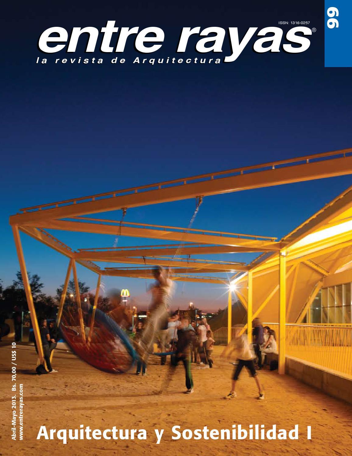 entre rayas 99 arquitectura y sostenibilidad i by