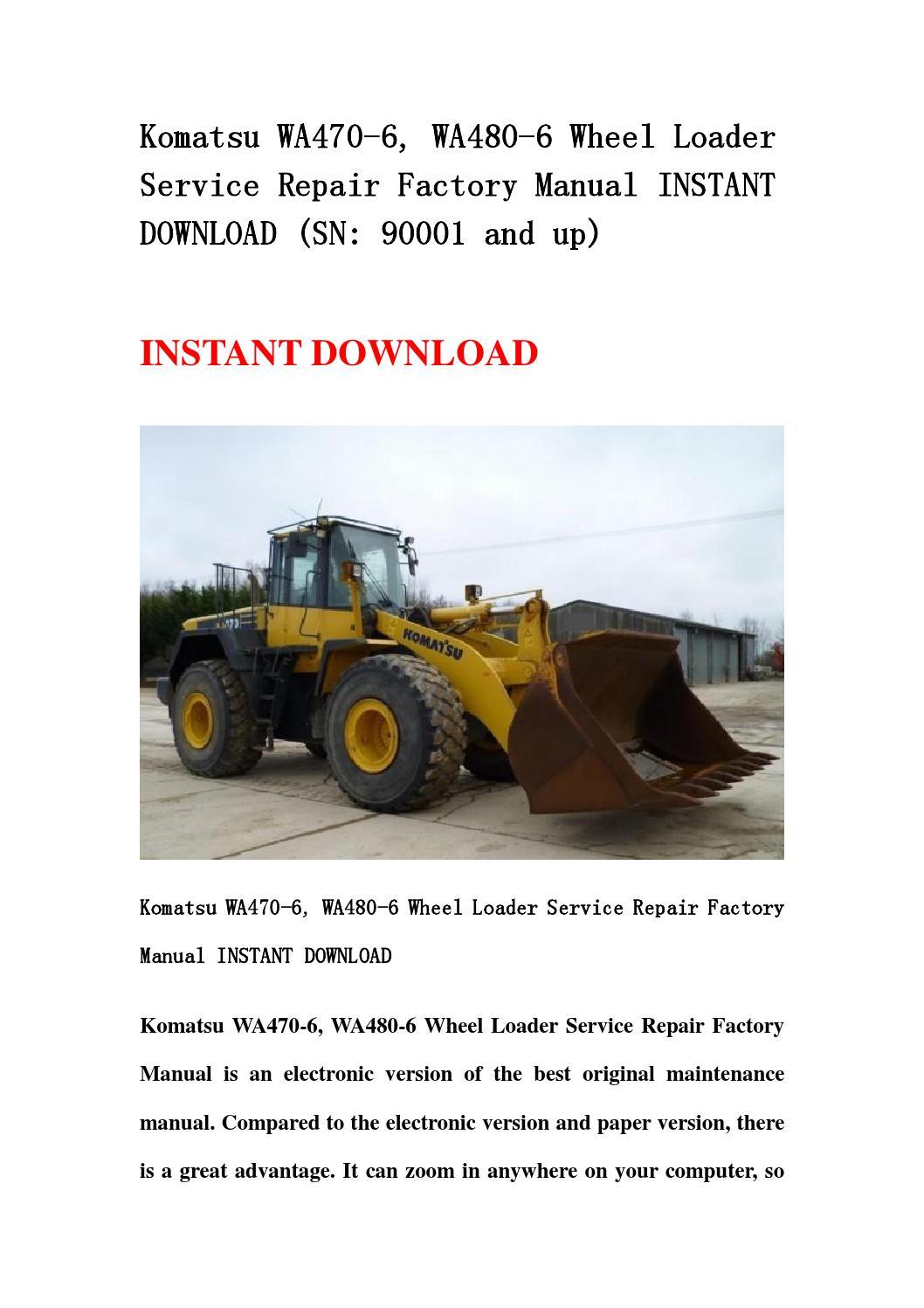 ... parts list manual for yanmar 3tnv88 xms download here Array - komatsu  wa470 3 avance wheel loader service manuals food is rh crystalclear tk