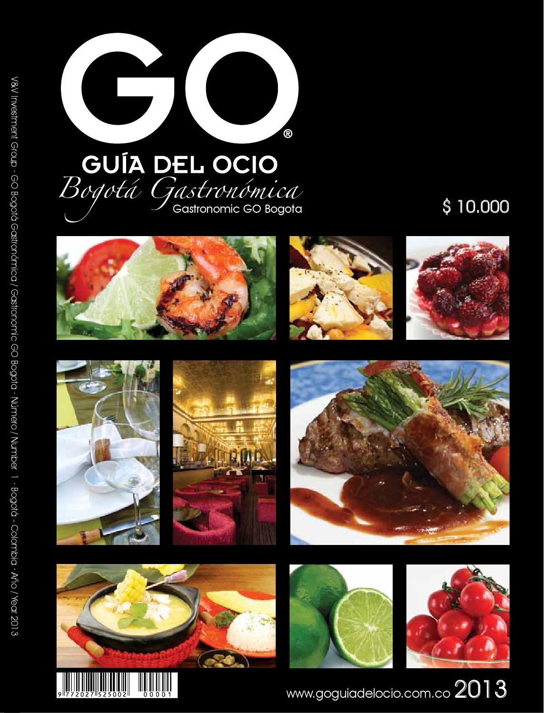 Go bogot gastron mica 2013 by go gu a del ocio issuu for Elementos de cocina bogota