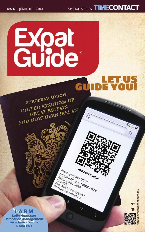 expat guide m u00e9xico df 2013 by time difusion s de rl de cv
