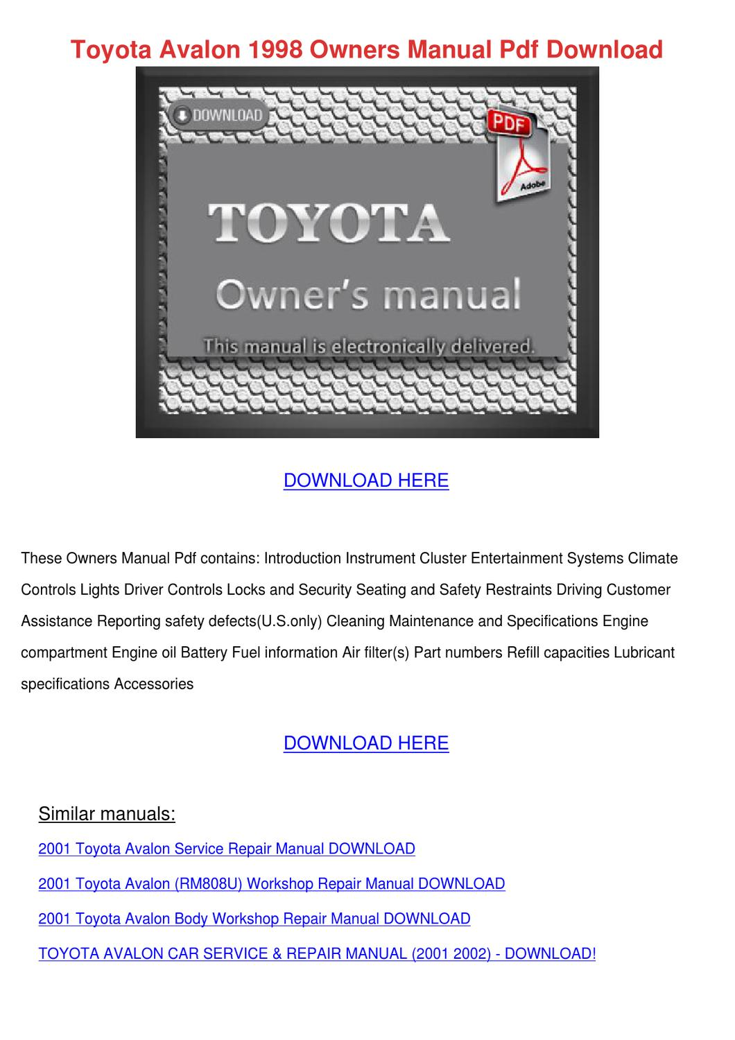 toyota camry 2006 manual pdf toyota camry fuel filter. Black Bedroom Furniture Sets. Home Design Ideas