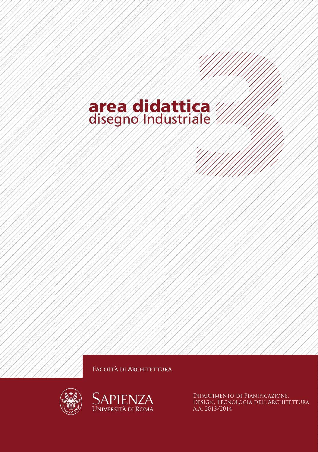 Area didattica 3 disegno industriale architettura for Laurea magistrale design
