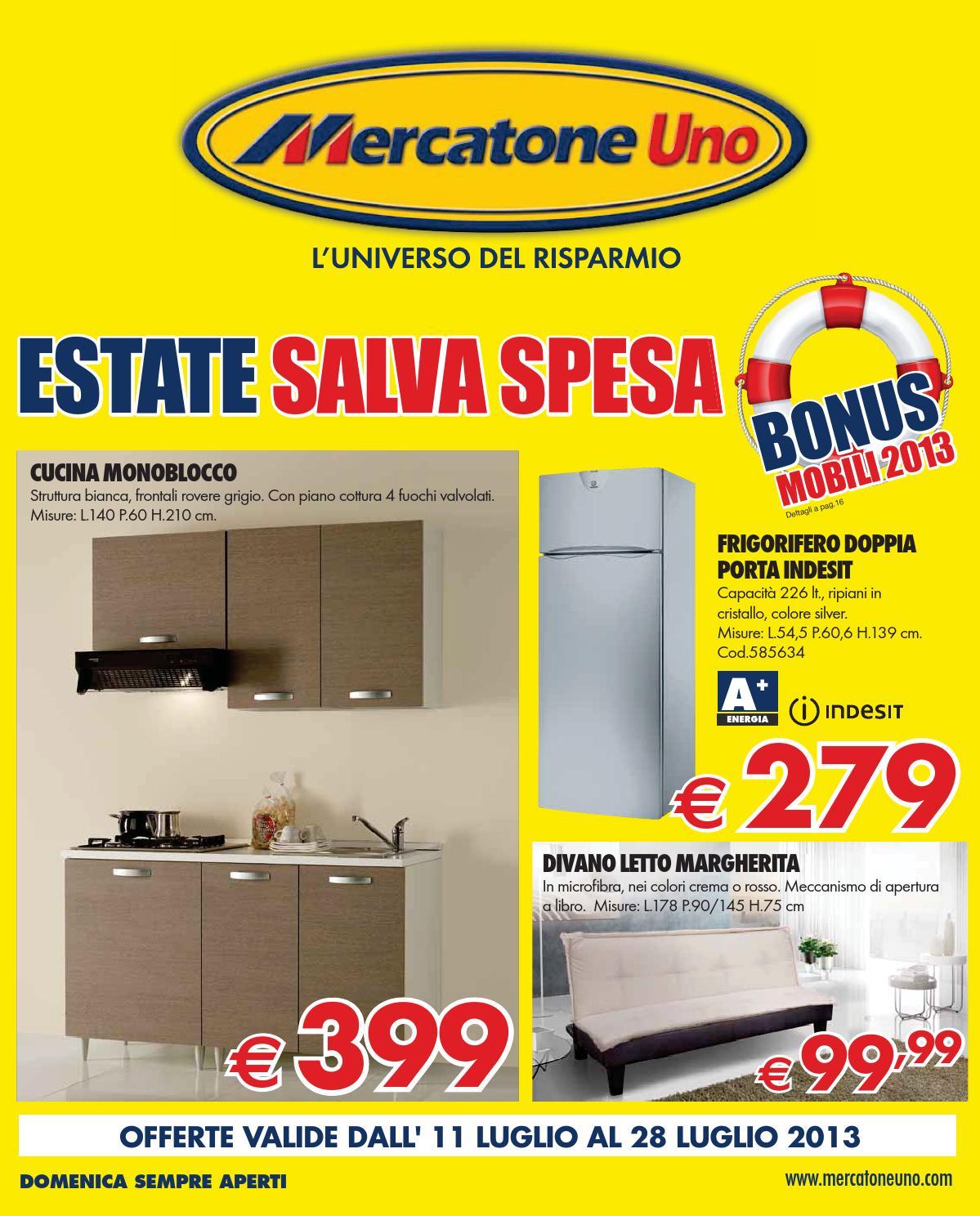 Mercatone Uno 11 28 Luglio 2013 By CatalogoPromozioni.com Issuu #C7B804 1199 1488 Carrello Cucina Mercatone Uno