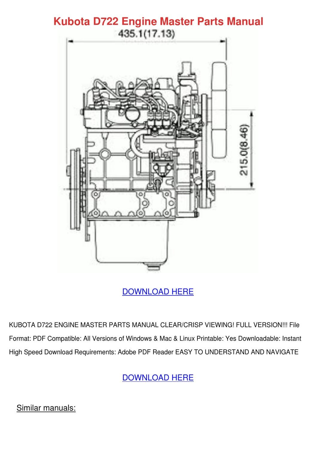 Awesome Kubota Engine Wg600 Repair Manual 2019 Ebook Library Wiring Digital Resources Arguphilshebarightsorg