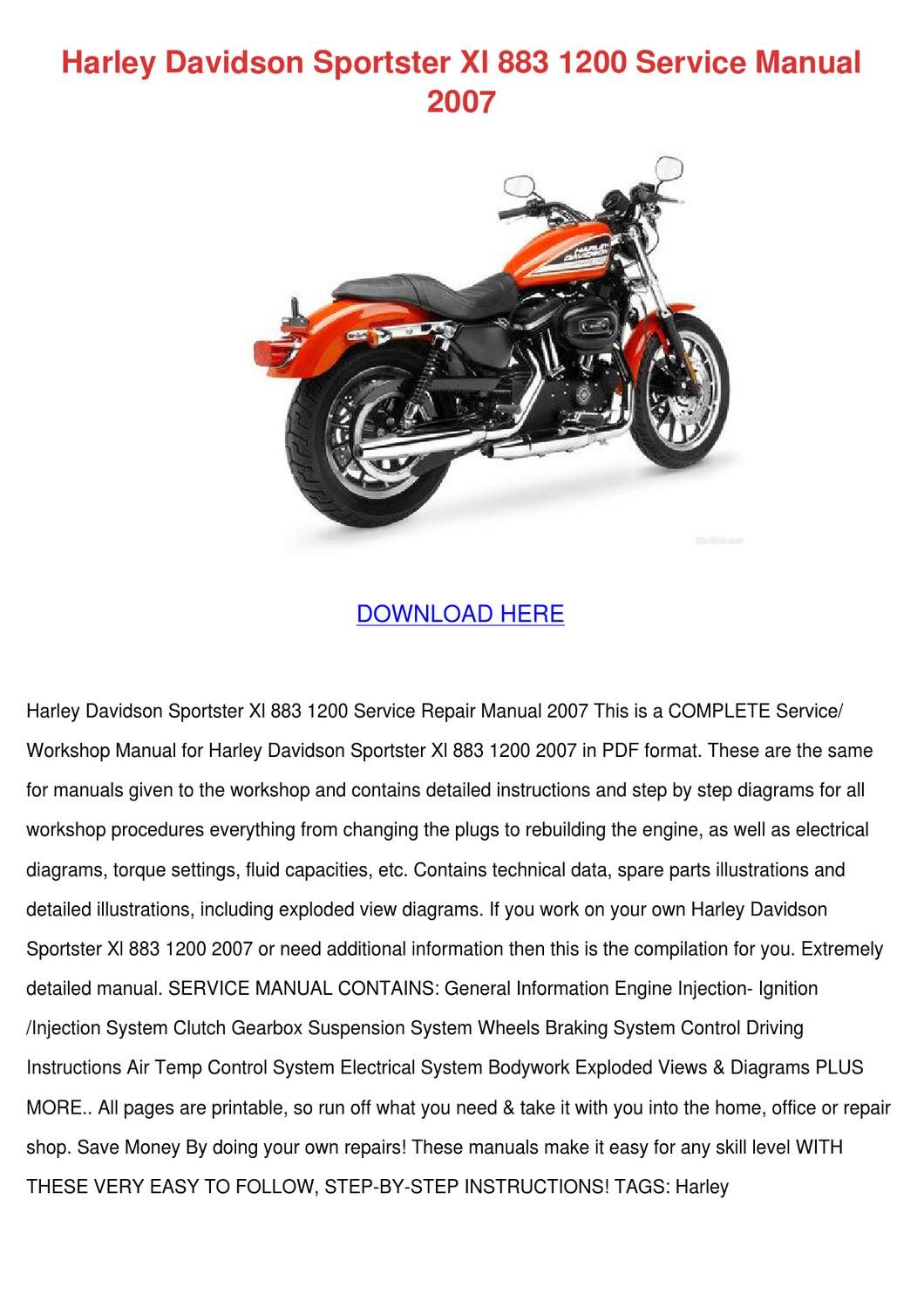 Shovelheads Manuals And Diagrams Sportsters Manuals And Diagrams