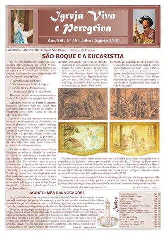 [Igreja Viva e Peregrina – Julho/Agosto 2013]