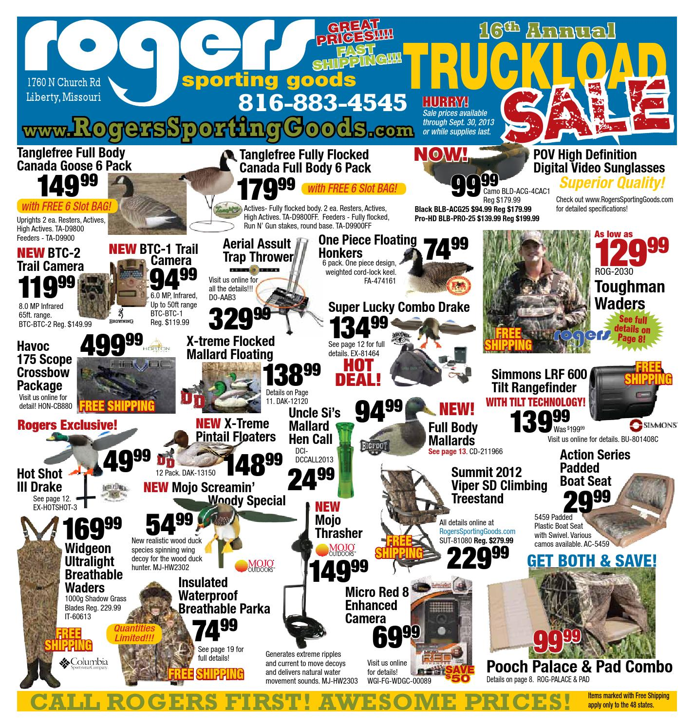 Canada Goose trillium parka online official - 16th Annual Truckload Sale by Rogers Sporting Goods - issuu