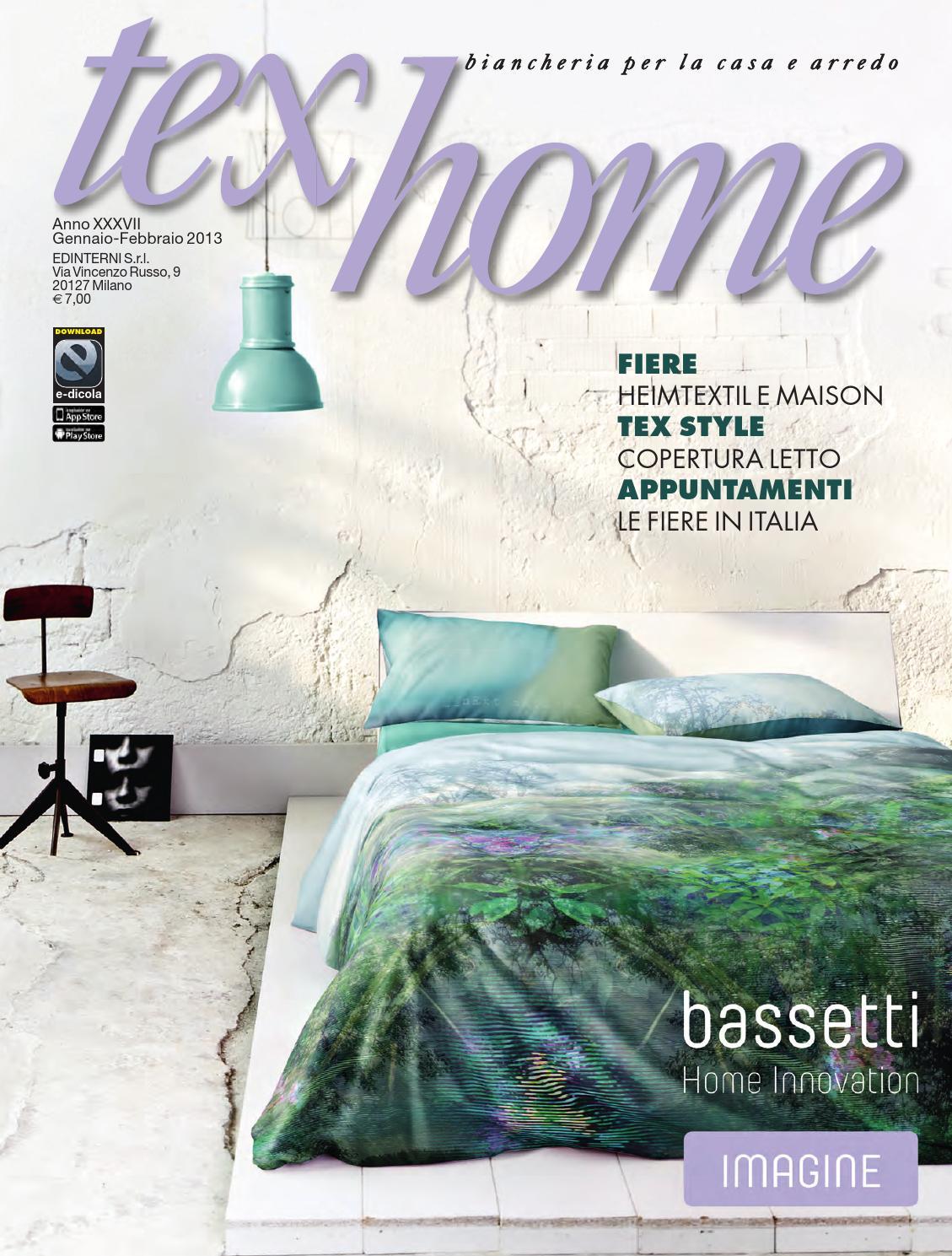 Tex home gennaio febbraio 2013 by edinterni srl issuu - Biancheria per la casa blumarine ...