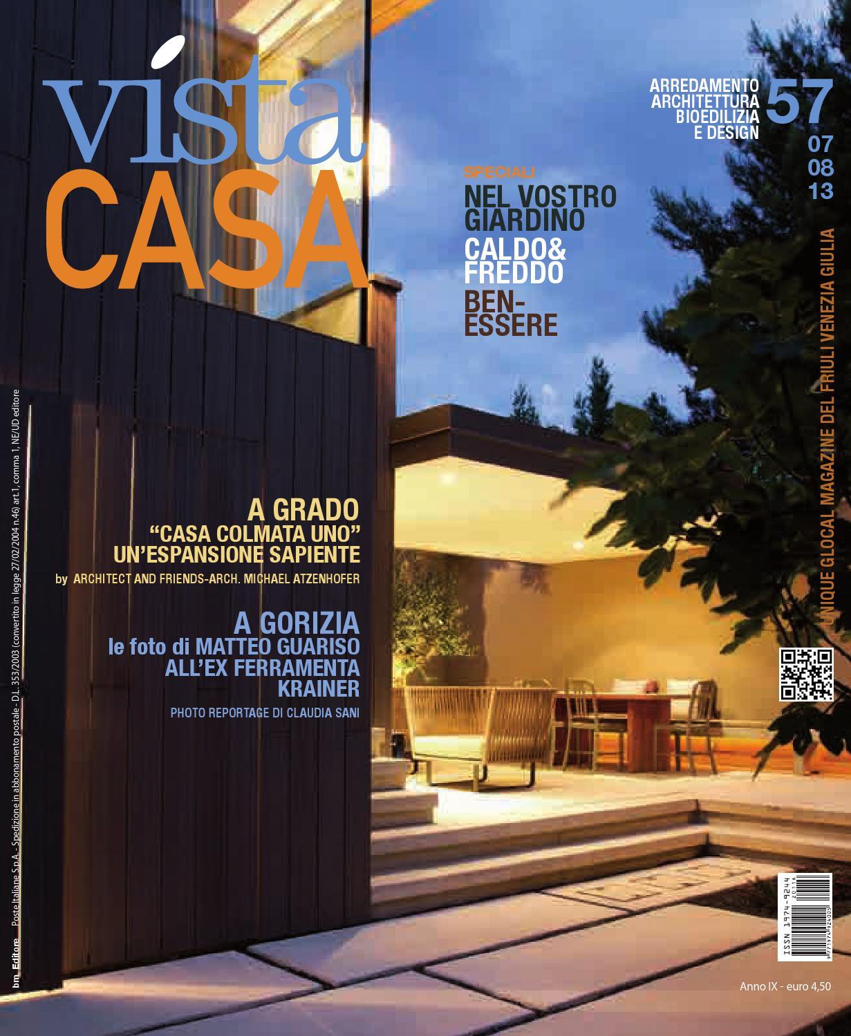 Rivista Luglio/Agosto 2013 by Vistacasa by BM Editore - issuu: https://issuu.com/redazionevistacasa/docs/luglio_agosto_2013