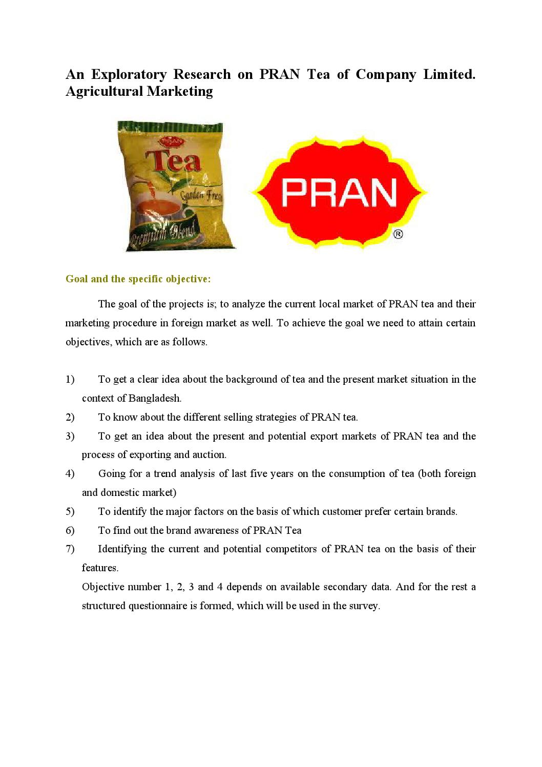 pran objectives See more of pran-rfl group on facebook  blending the objectives of  achieving social values together with pecuniary advantage and creating jobs in  our.