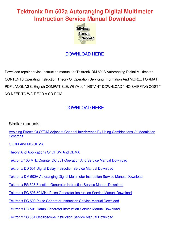 canton dm 50 service manual