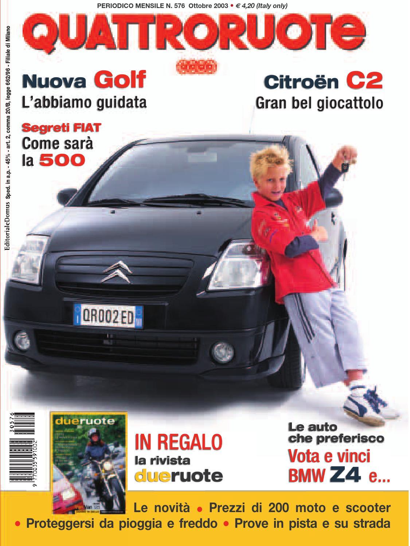 Quattroruote 2003 11 by mario mario1961 issuu for Cerco cose vecchie in regalo