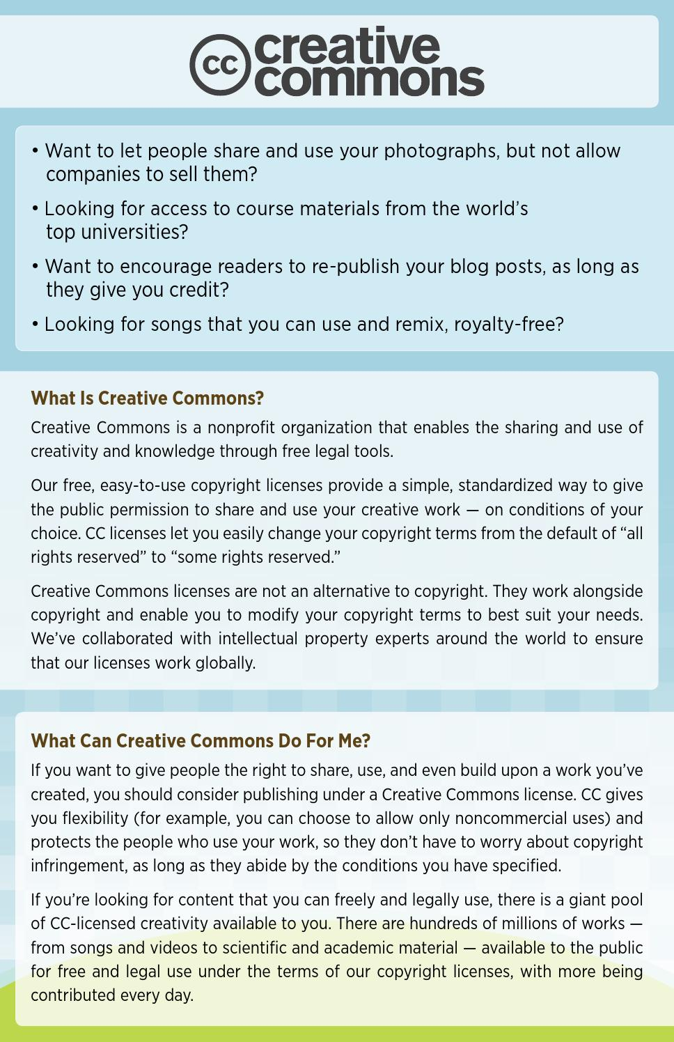 What Is Creative Commons? By Intelrev