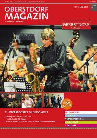 Oberstdorf Magazin 8/2013