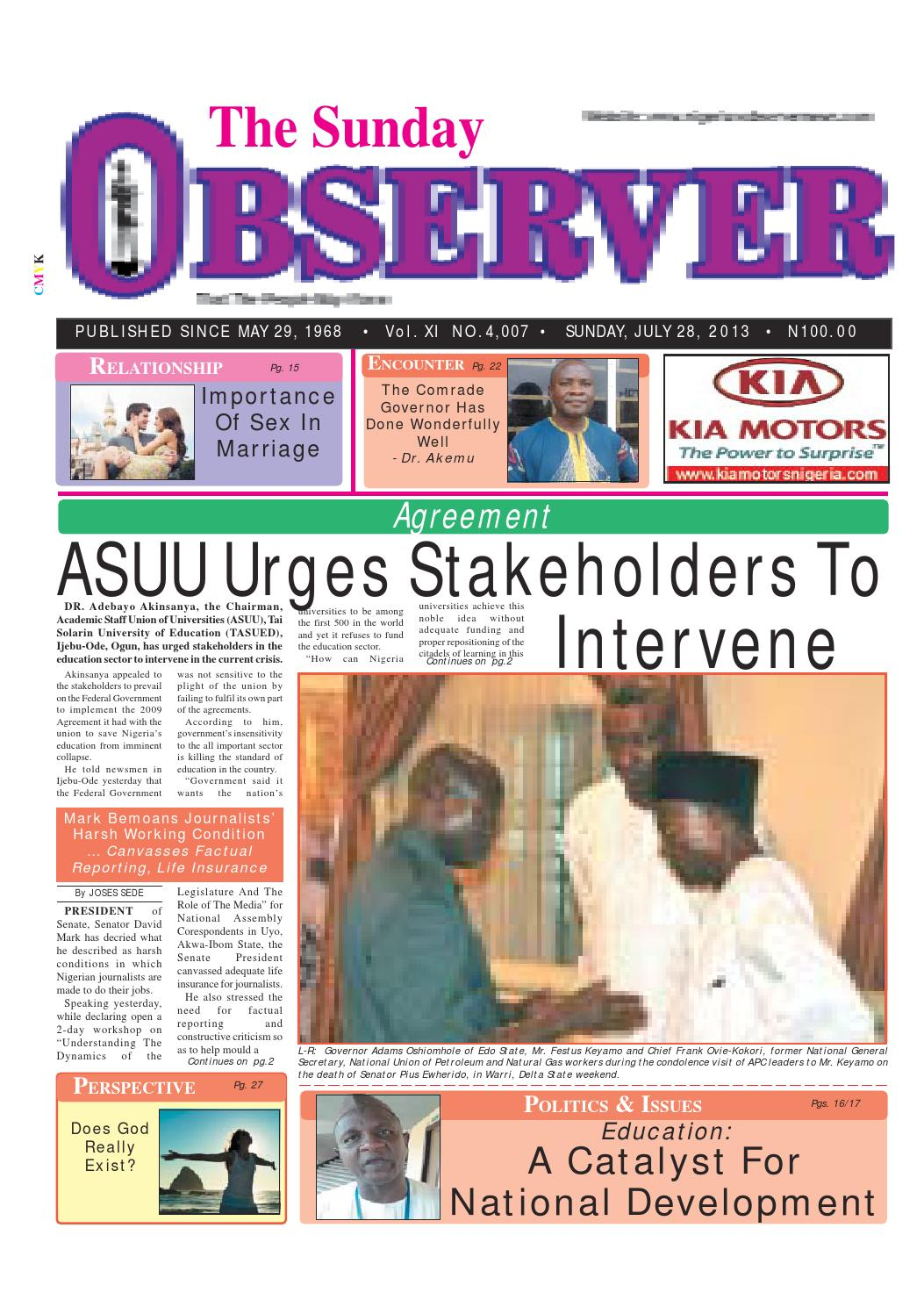 sunday observer by ian observer issuu