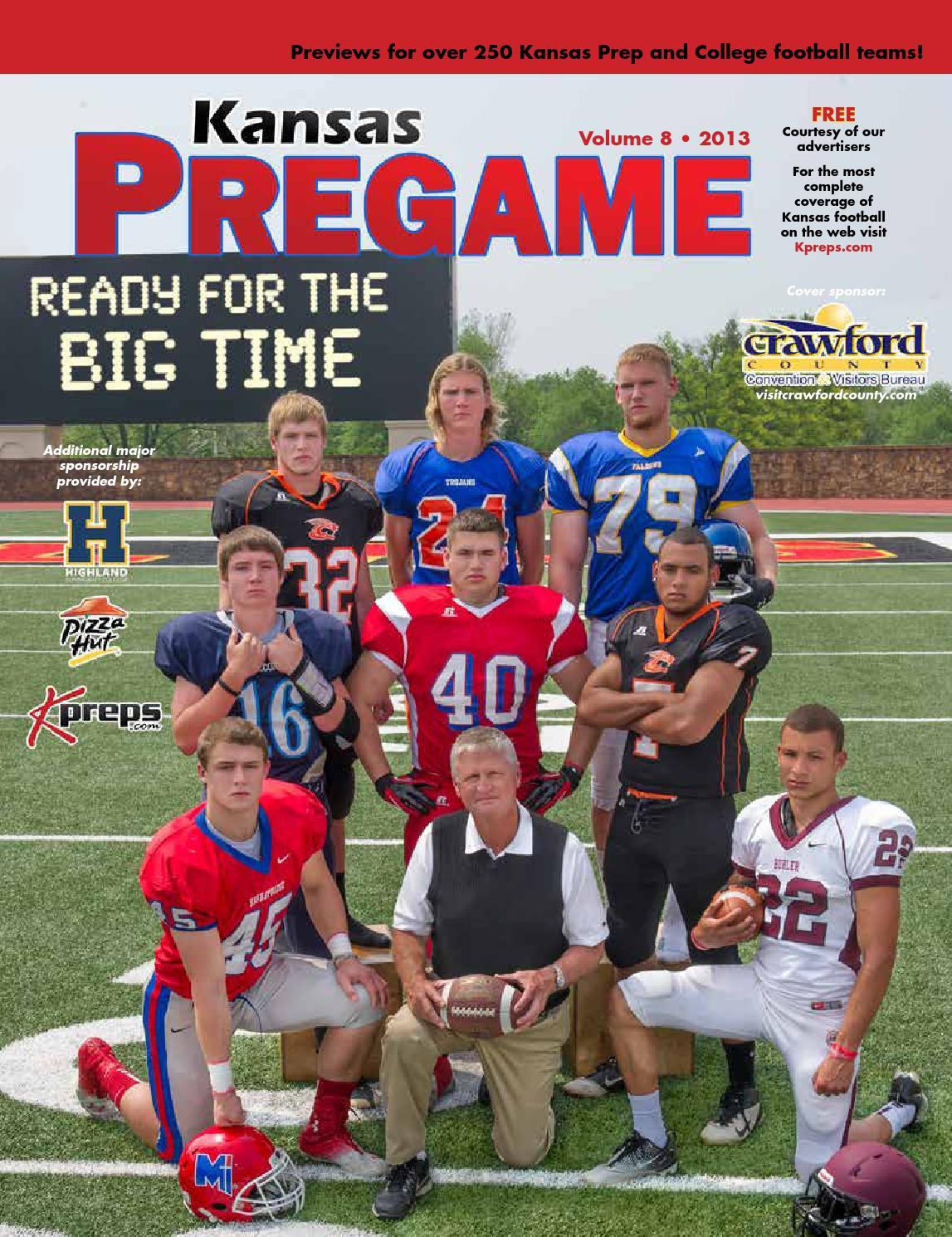 Kansas Pregame 2013 By Sixteen 60 Publishing Co Issuu