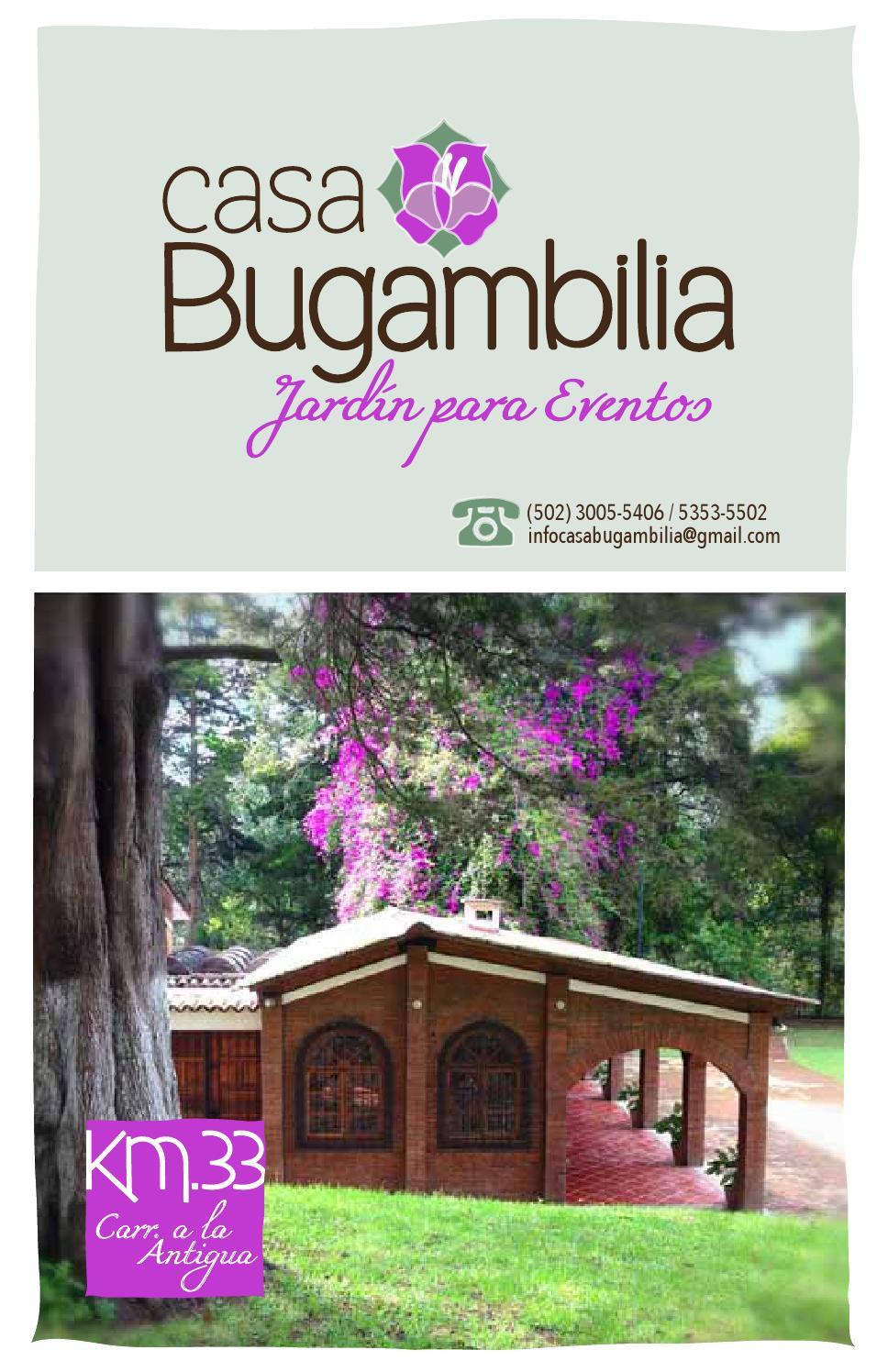 Casa bugambilia jardin para eventos by casa bugambilia for Casa jardin guatemala