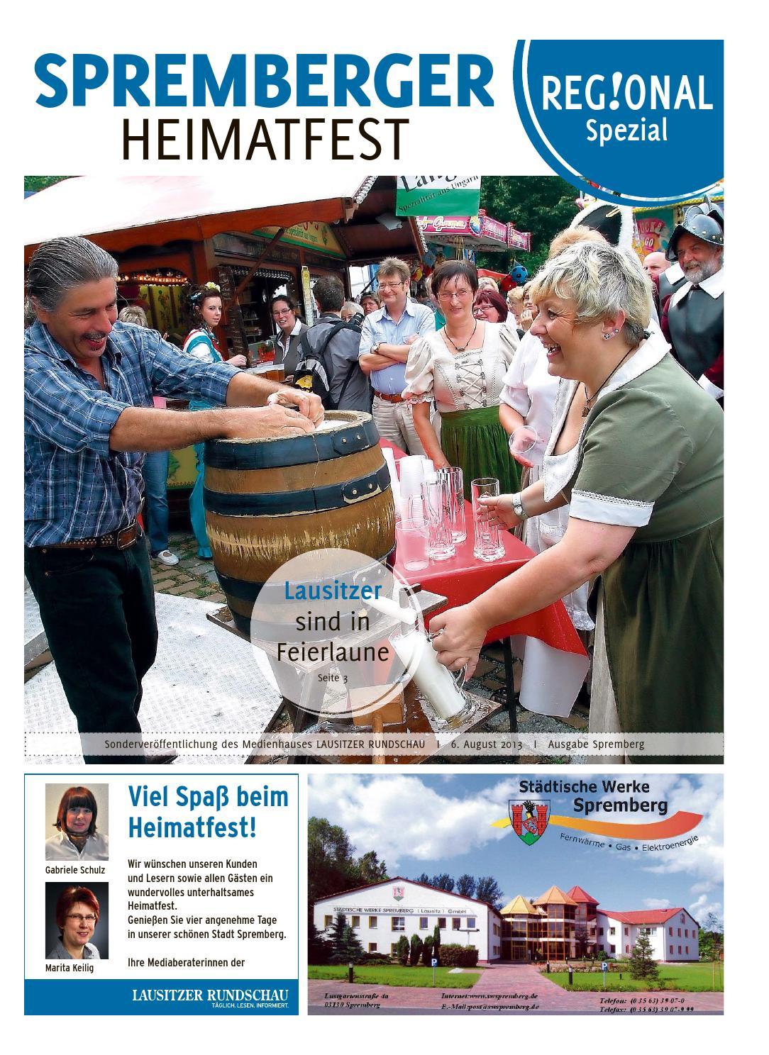 Spremberger heimatfest 2013 by lausitzer rundschau   issuu