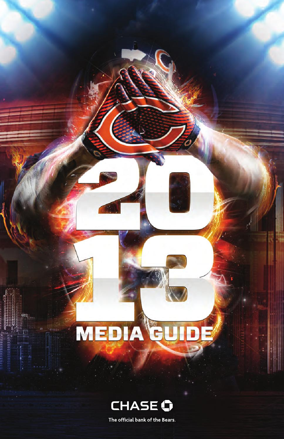 2013 chicago bears media guide by bcerwin