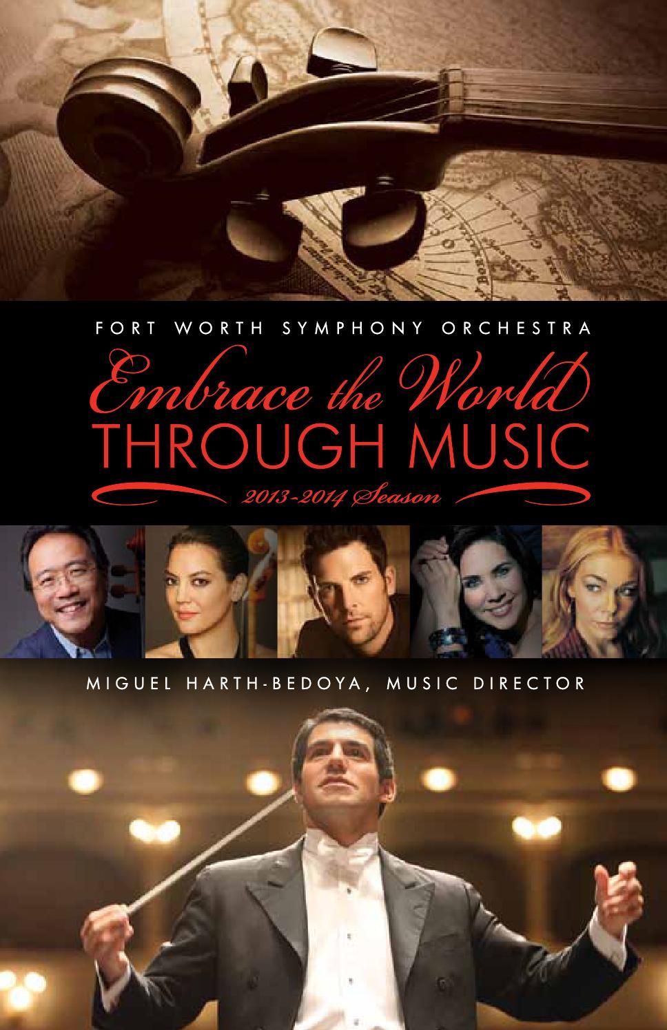 Fwso 2013 2014 Season Brochure By Fort Worth Symphony Orchestra Issuu