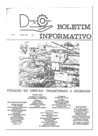 [Bio Diocesano Agosto 1989]