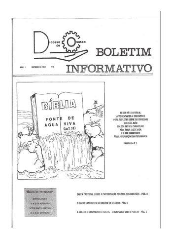 [Bio Diocesano Setembro 1989]