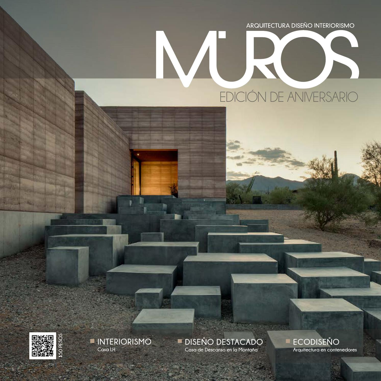 Edici n 6 aniversario revista muros arquitectura for Arquitectura y diseno de hoteles