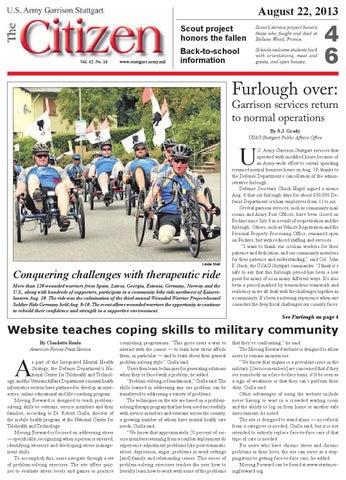 The Citizen - Aug. 22, 2013