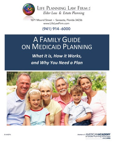 Family guide on medicaid planning