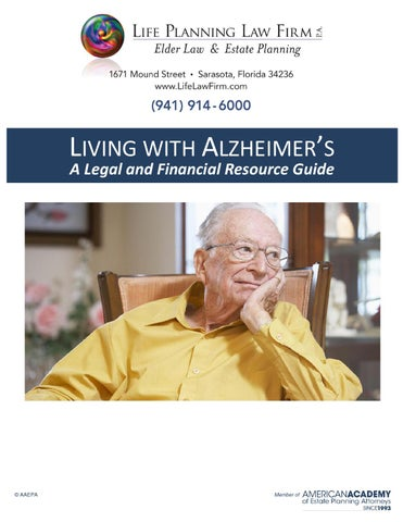 Living with alzhemers a financial & legal guide