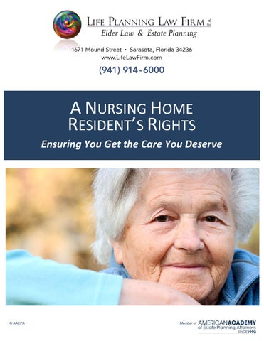 Nursing home residents rights