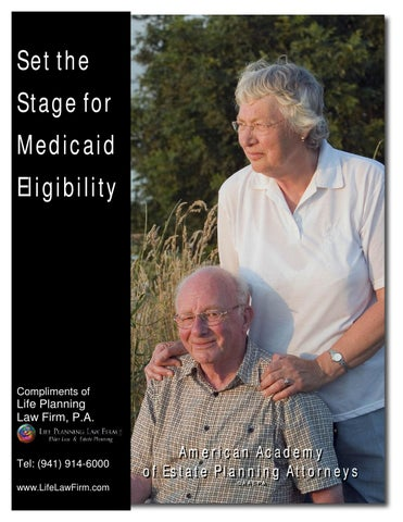 Set the stage for medicaid