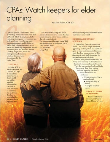 CPAs: Watch keepers for elder planning