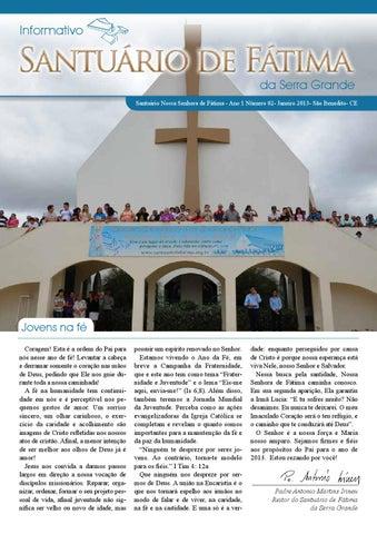 [Informativo Santuário de Fátima (janeiro/2013)]