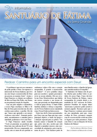 [Informativo Santuário de Fátima (abril/2013)]