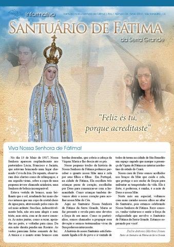 [Informativo Santuário de Fátima (maio/2013)]