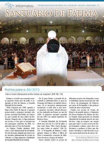 [Informativo Santuário de Fátima (julho/2013)]