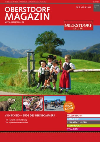 Oberstdorf Magazin 9/2013