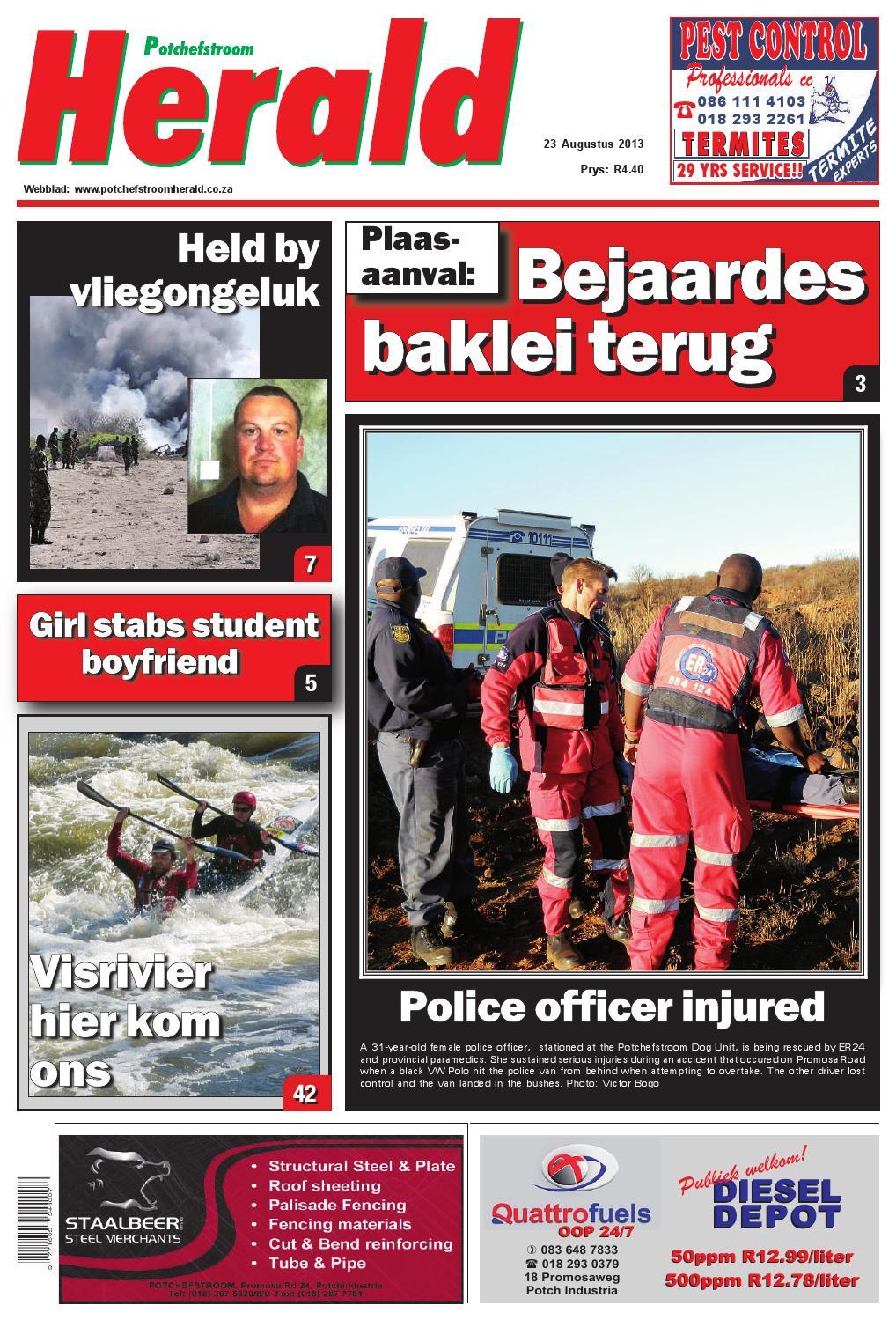 Potchefstroom Herald 23 Augustus 2013 By
