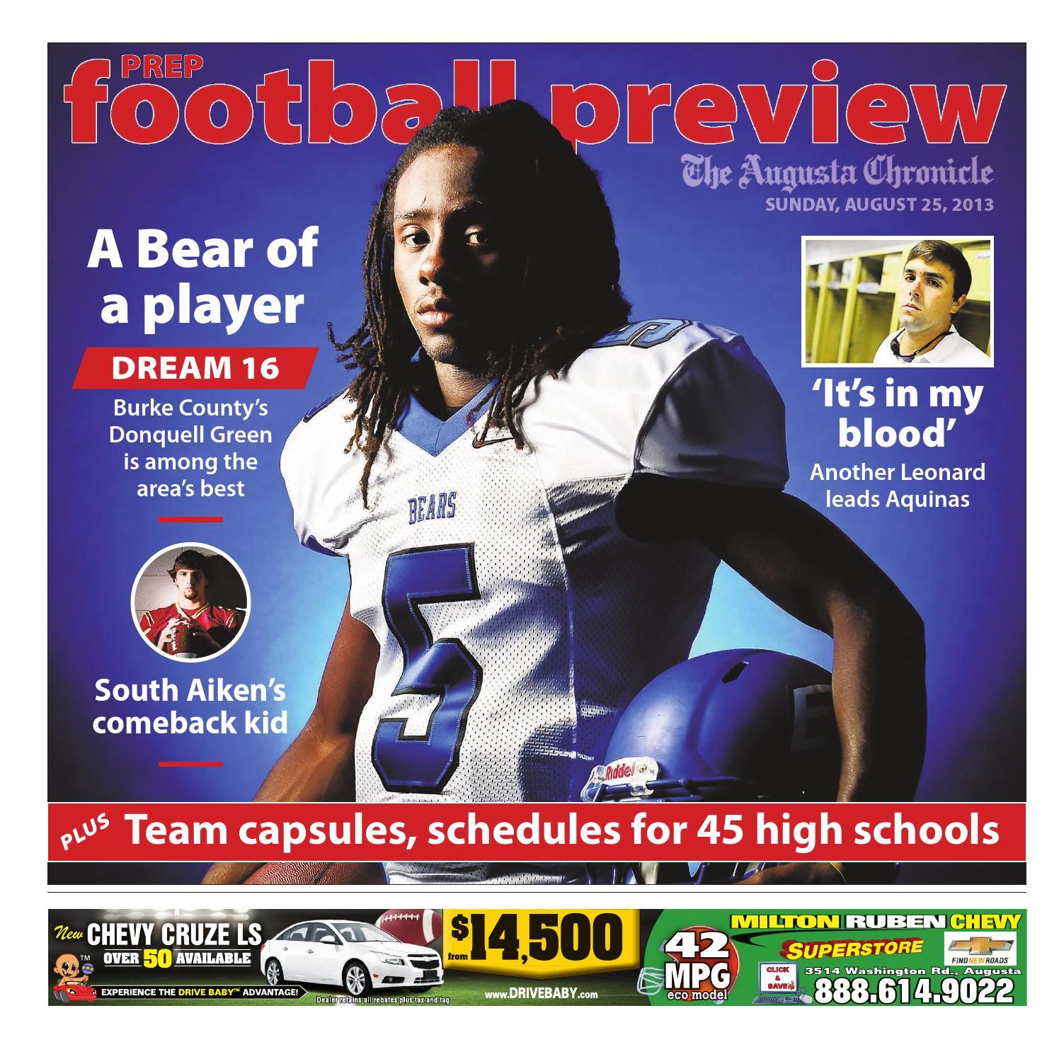 Football Broadcast – Football – Burke County High School