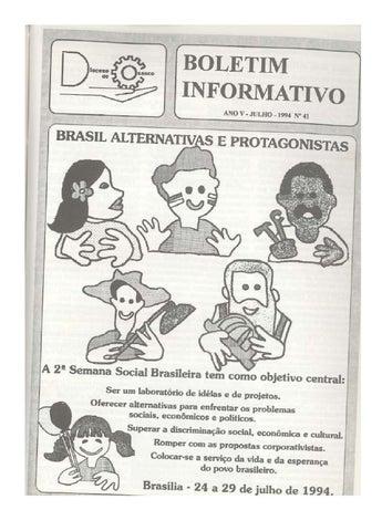 [Bio Diocesano Julho 1994]