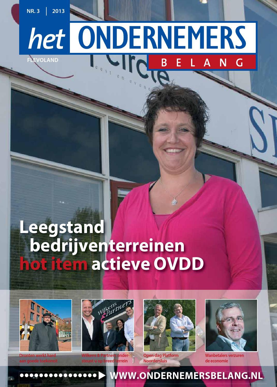 Het ondernemersbelang flevoland 3 2013 by uitgeverij novema   issuu