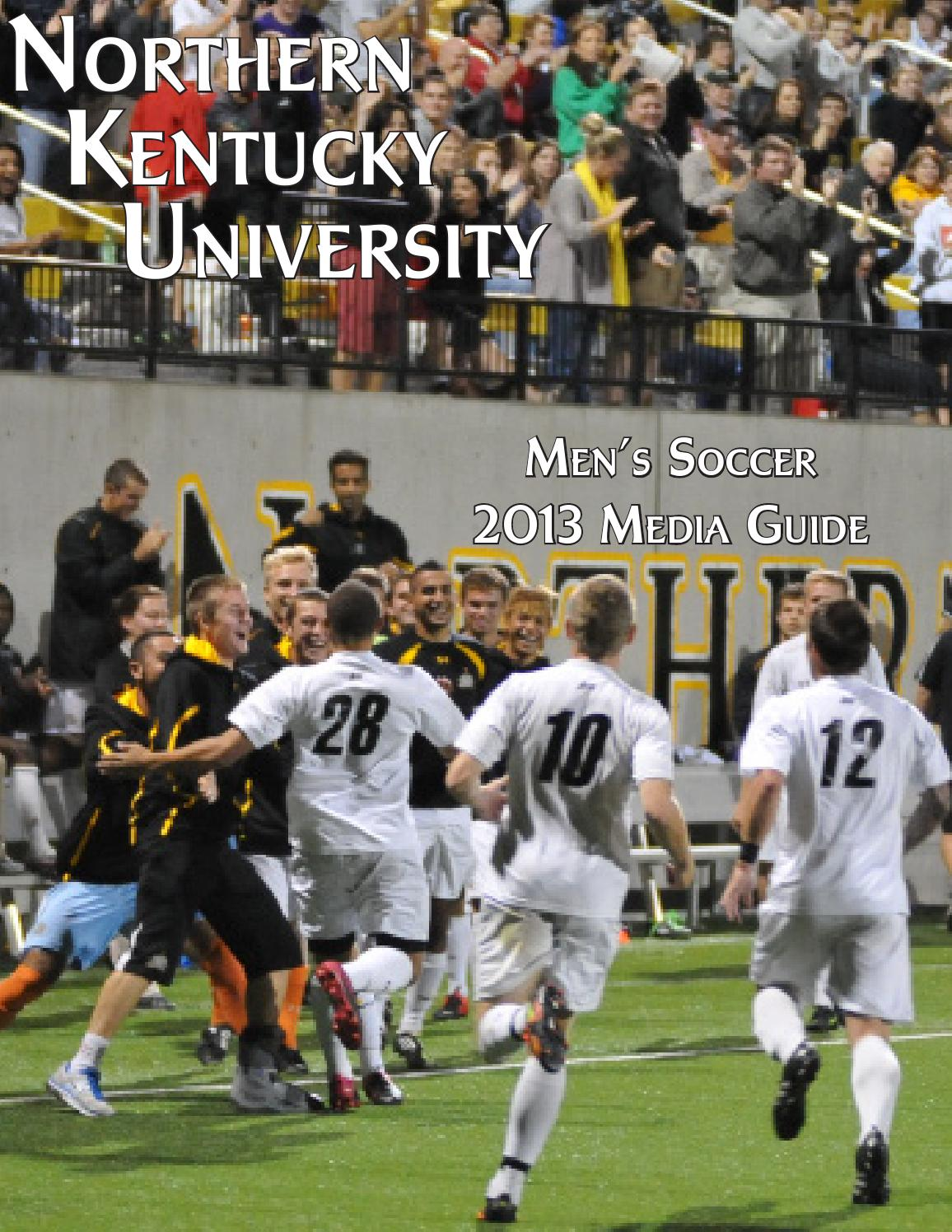 2013 nku men s soccer media guide by Northern Kentucky ...
