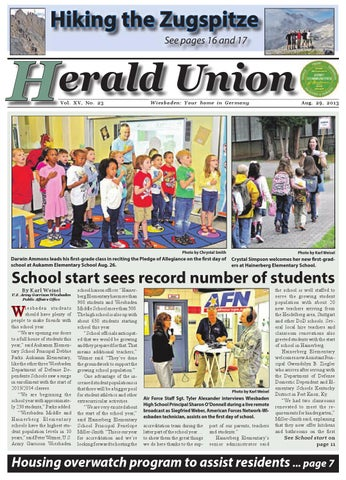Herald Union - Aug. 29, 2013