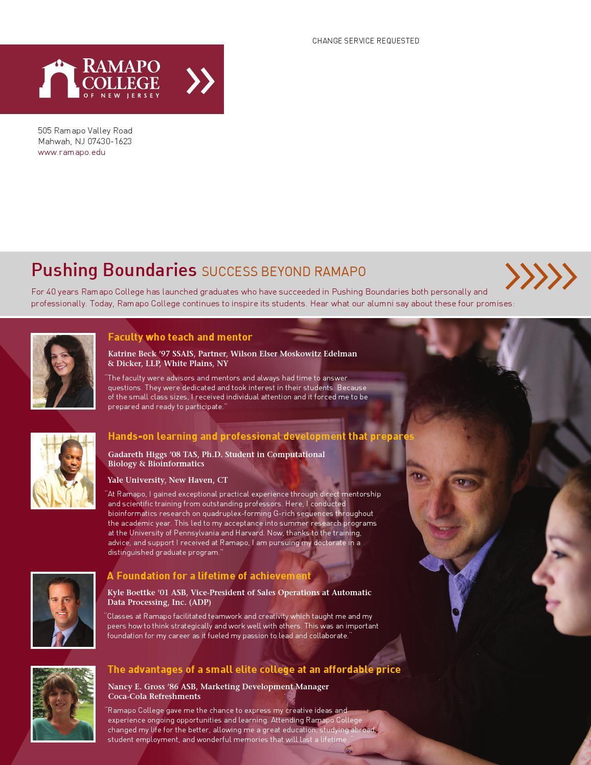 Summer Magazine 2013 by Ramapo College (page 40) - issuu