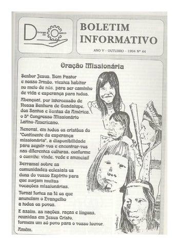 [Bio Diocesano Outubro 1994]