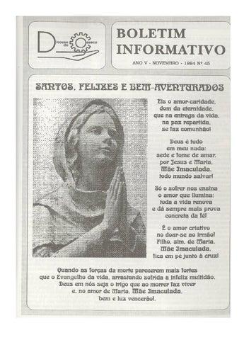 [Bio Diocesano Novembro 1994]