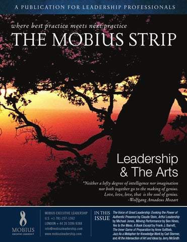 Leadership & The Arts | The Mobius Strip