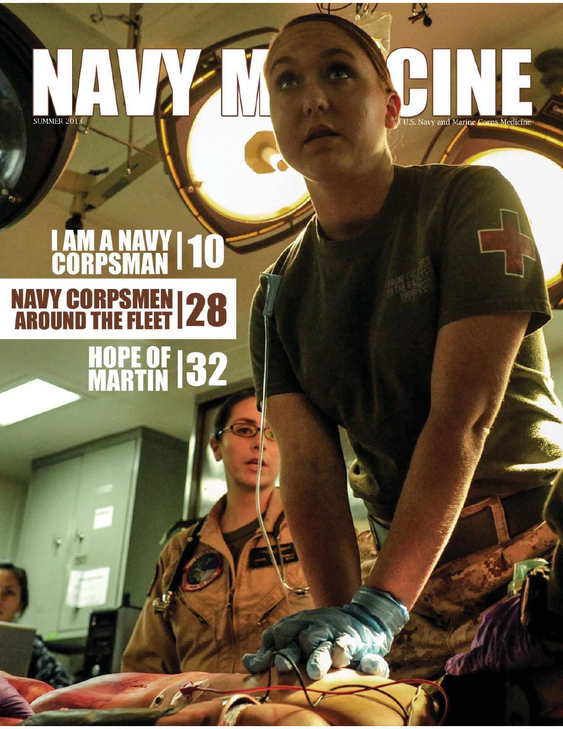 Navy Medicine Magazine (Summer 2013) by Navy Medicine - issuu