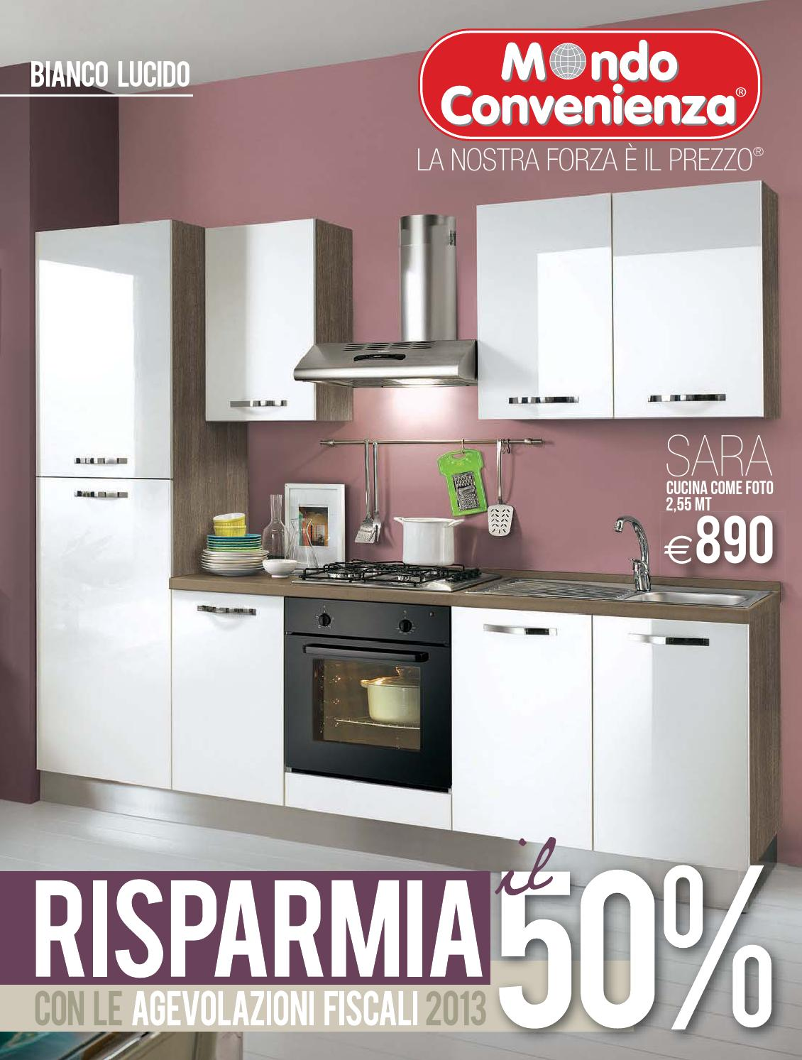 Mondo convenienza catalogo autunno 2013 by mobilpro issuu - Cucine outlet mondo convenienza roma ...